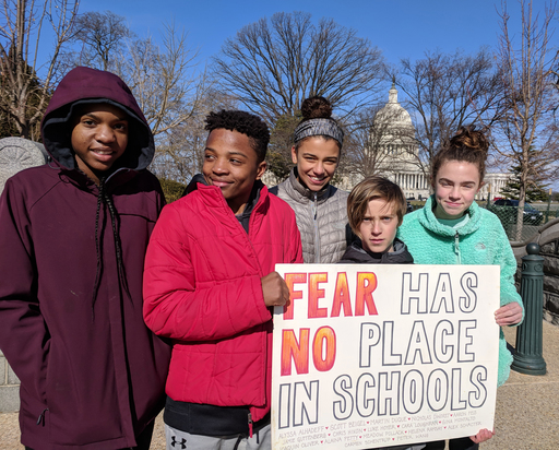 Student Activism at Capitol Hill Day School (Apr2018 Hill Rag)